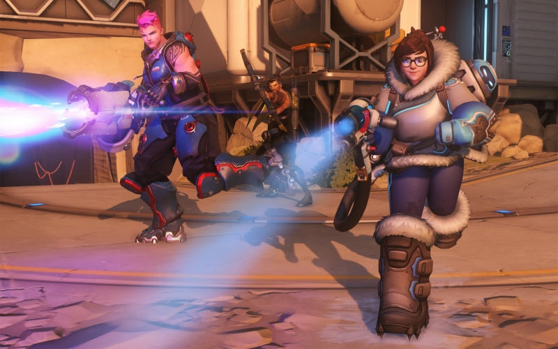 Overwatch is Blizzard's upcoming third-person shooter.