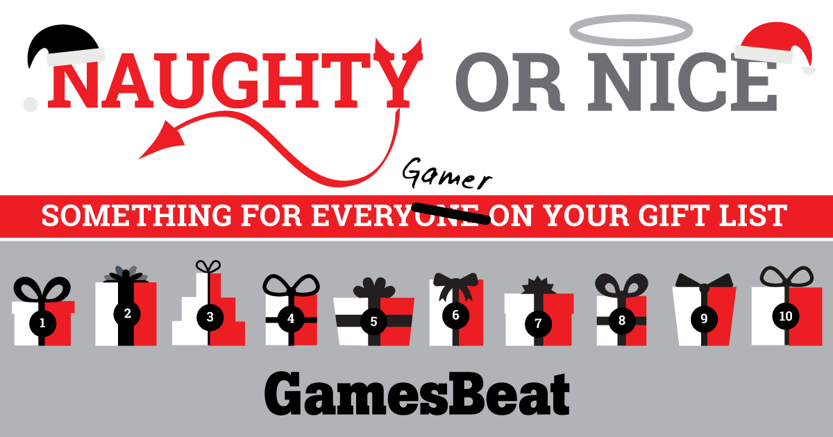 GamesBeat's 2015 Naughty or Nice gift guide