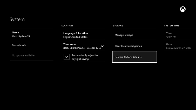 """You can see the """"No update available"""" warning on the bottom left. That will change when the patch is ready to go."""