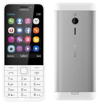 Nokia 230: Silver