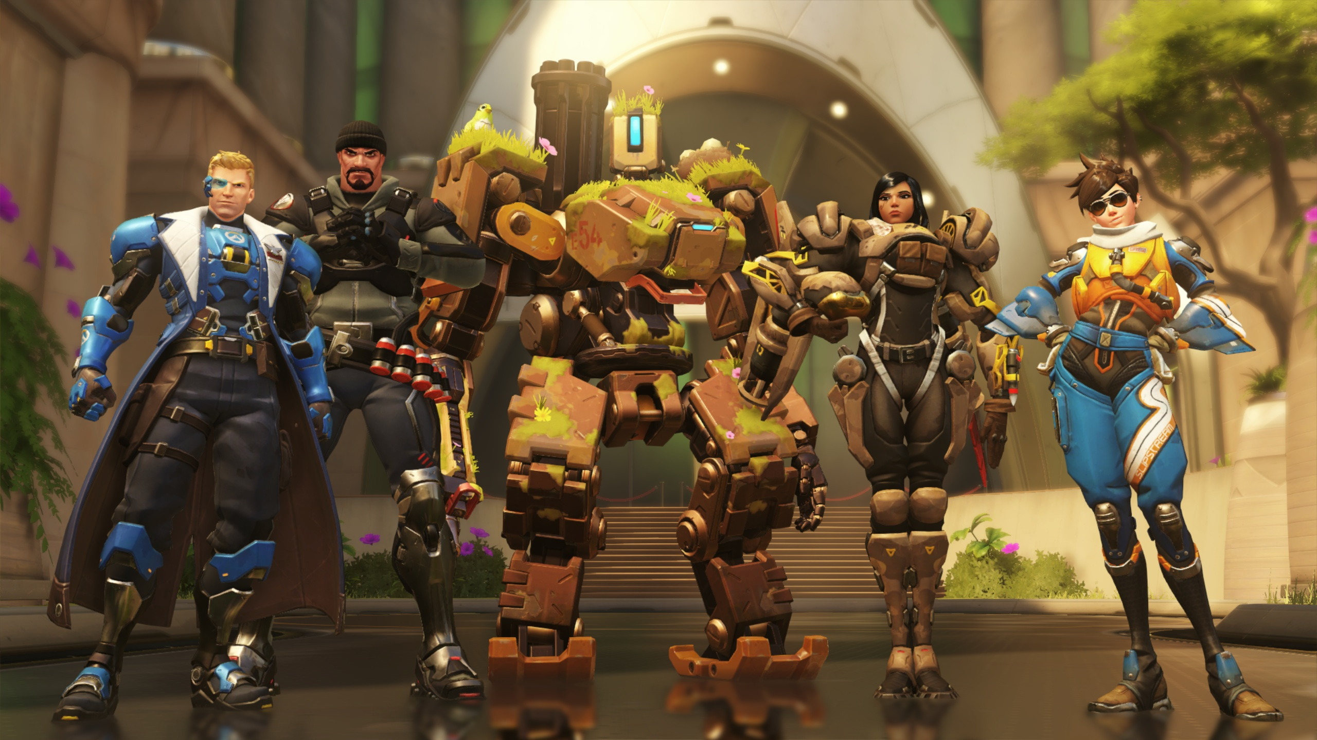 Bastion and friends.