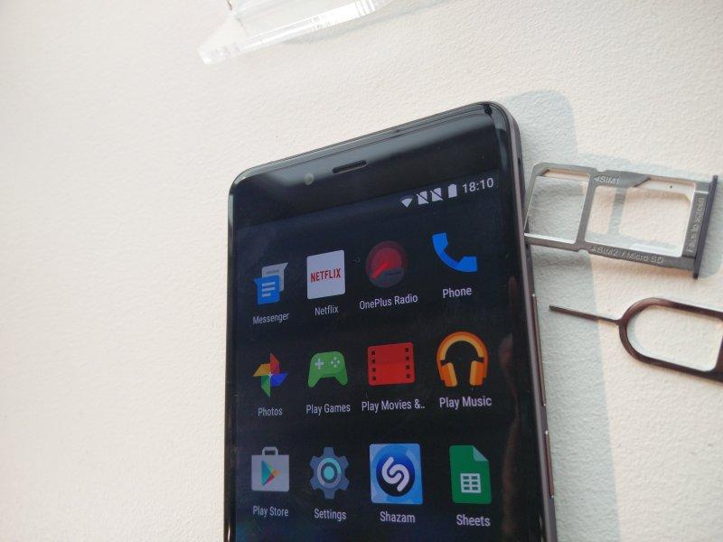 OnePlus X: Sim Slot