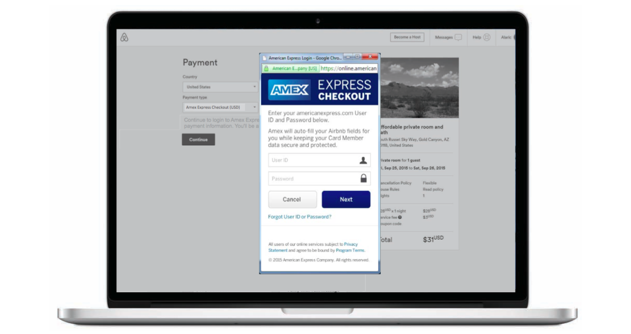 American Express Checkout >> Book Your Next Airbnb Directly Using Your American Express Rewards