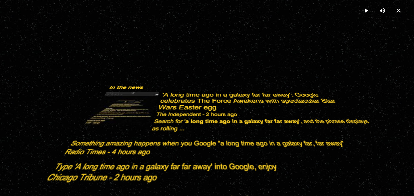 Google themes star wars - Star Wars This Is The Second Promotional Stunt That Google Has Run In Advance Of The Force Awakens Yesterday The Company Launched A Website Where Google