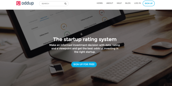 Oddup scores $1M for its startup rating system, initially focused on Asia