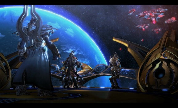 StarCraft II Legacy of the Void space