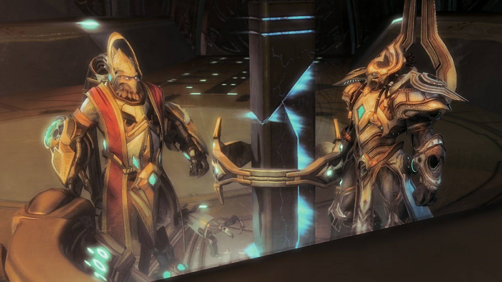 StarCraft II Protoss confab