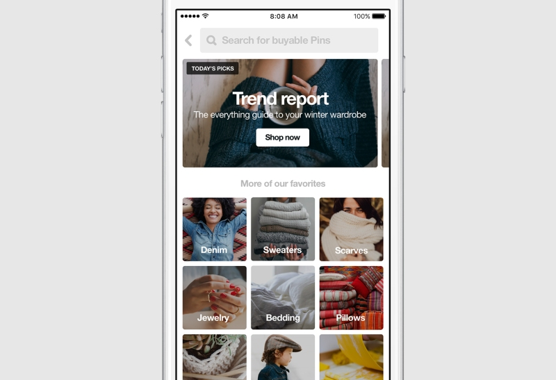 The Pinterest Shop