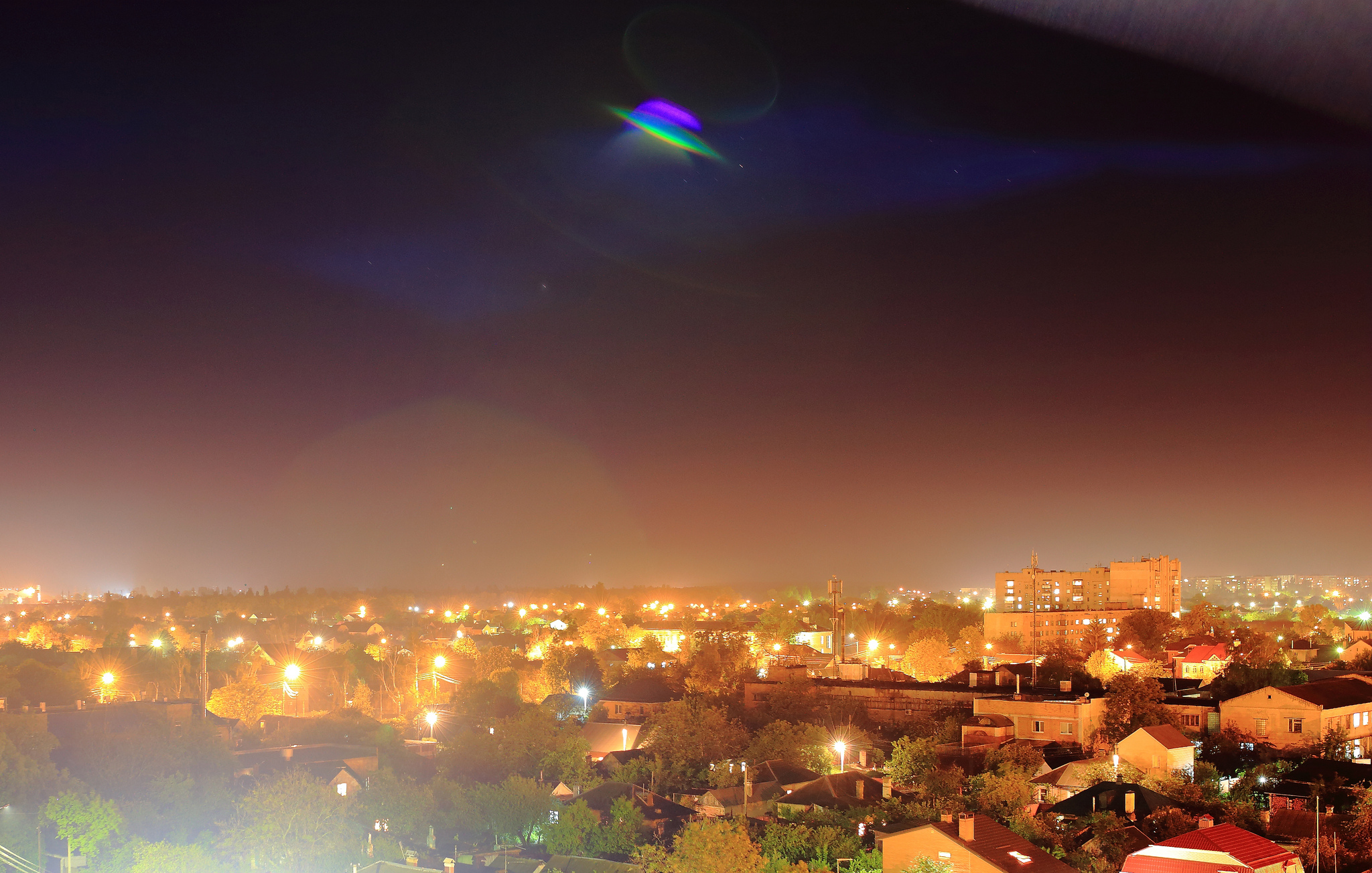 UFO off California? Streaking light was missile test