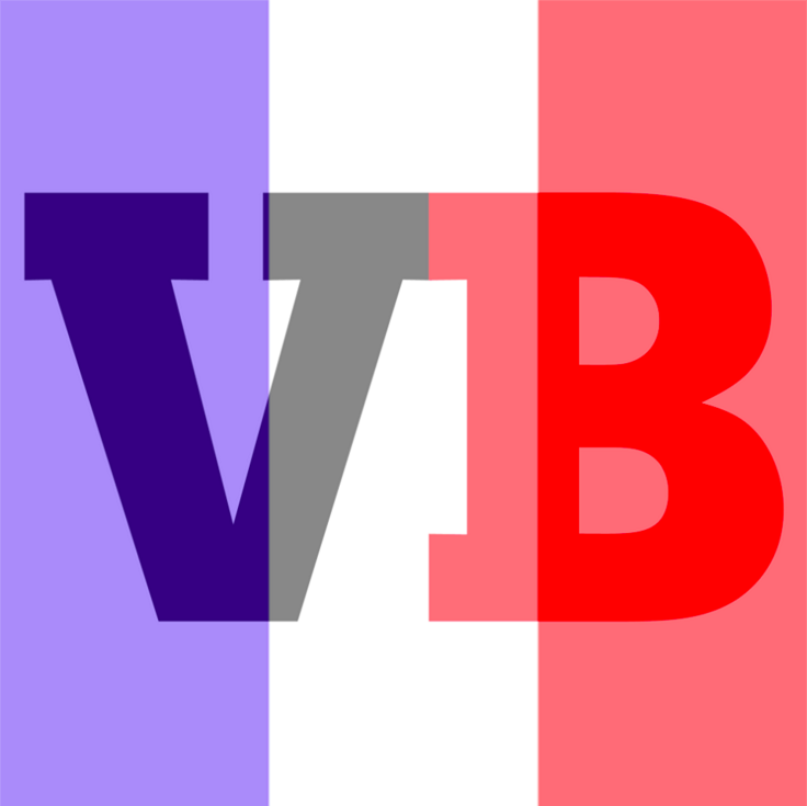 Our Facebook profile picture with the France flag filter that Facebook is now offering.