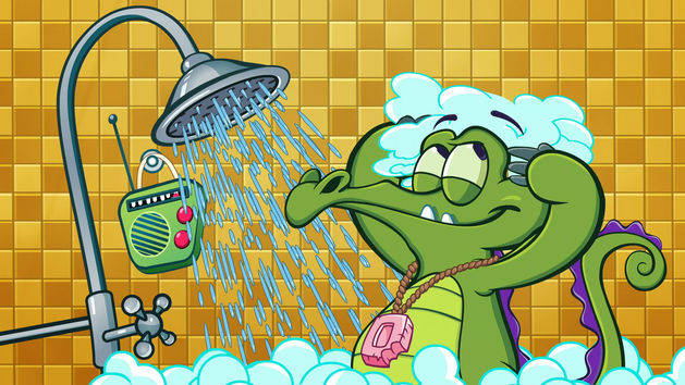 Where's My Water's central character of Swampy is an lovable gator with the cutest kind of OCD.