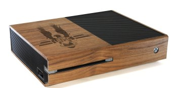 For the gamer who has everything: custom-designed wood console covers