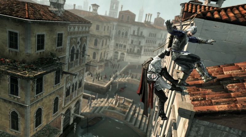 Scene from Assassin's Creed II.