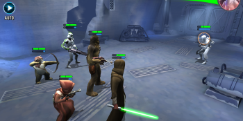 Watch us play Star Wars: Galaxy of Heroes, Electronic Arts' new mobile game