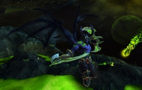 World of Warcraft demon hunter male attack