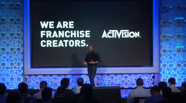 Eric Hirshberg, CEO of Activision Publishing, speaking at Activision Blizzard's investor day in 2015.
