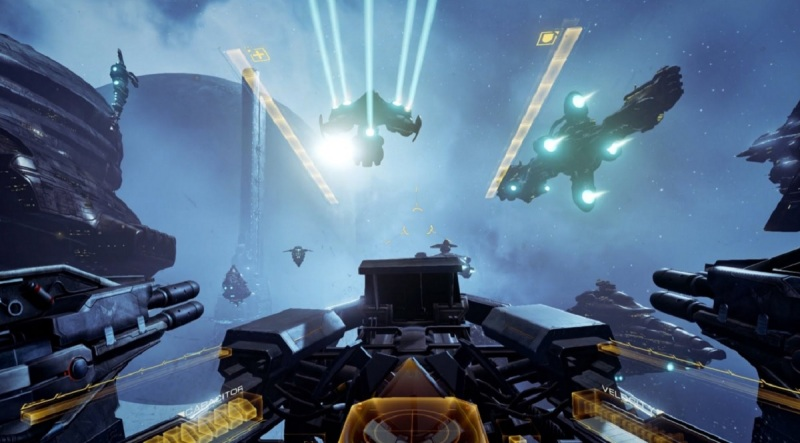 Eve: Valkyrie is made for VR.