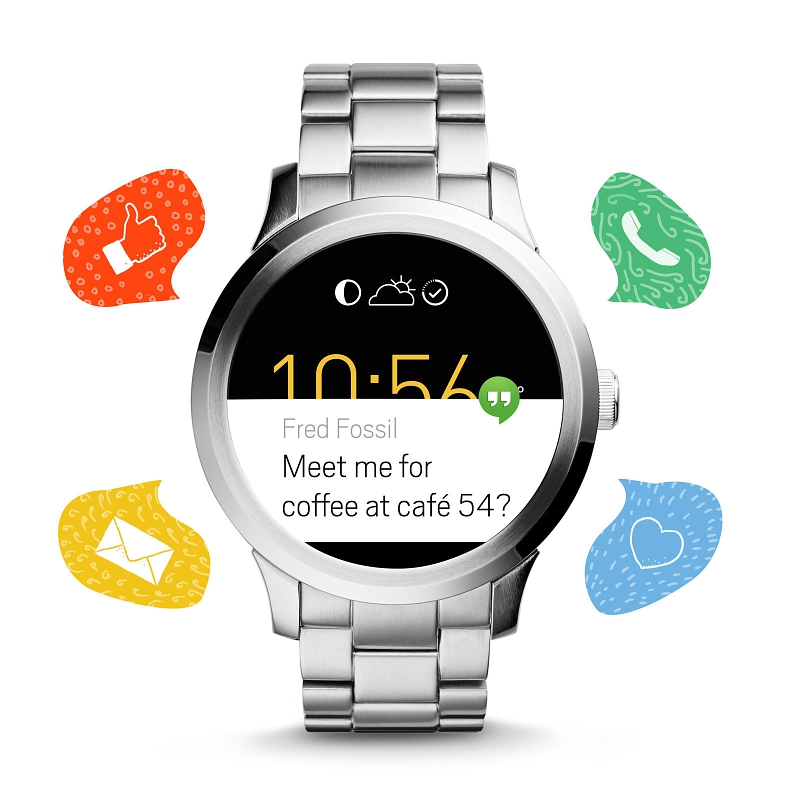 Fossil's first Android Wear smartwatch looks great and ...