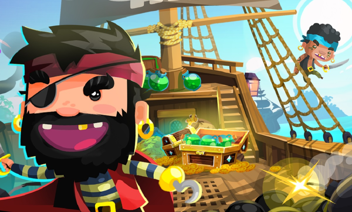 Jelly Button's first big hit is Pirate Kings.