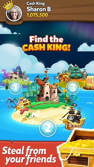 """Pirate Kings is a """"mingleplayer"""" game, with elements of multiplayer and single player."""