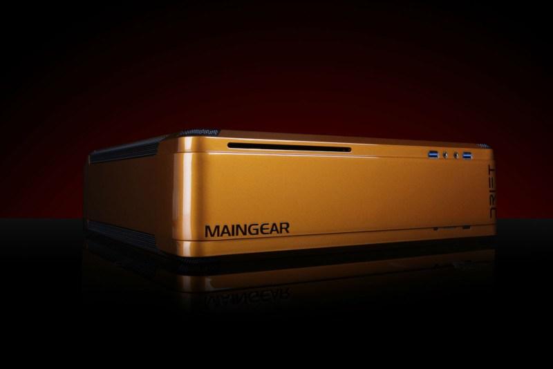 Maingear's Drift is a 4K SteamOS gaming computer.