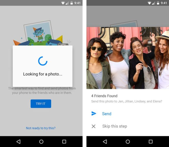 """Using """"Photo Magic"""" on Facebook Messenger for Android"""