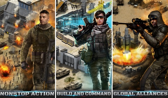 Mobile Strike game from Machine Zone's Epic War.
