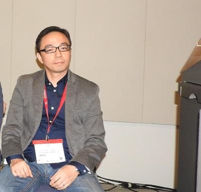 Ringo Zhu of China's CMGE.