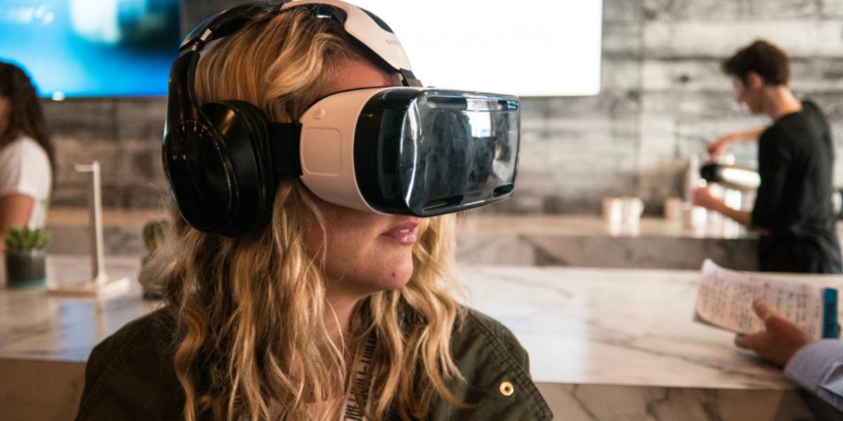 The Samsung Gear VR.