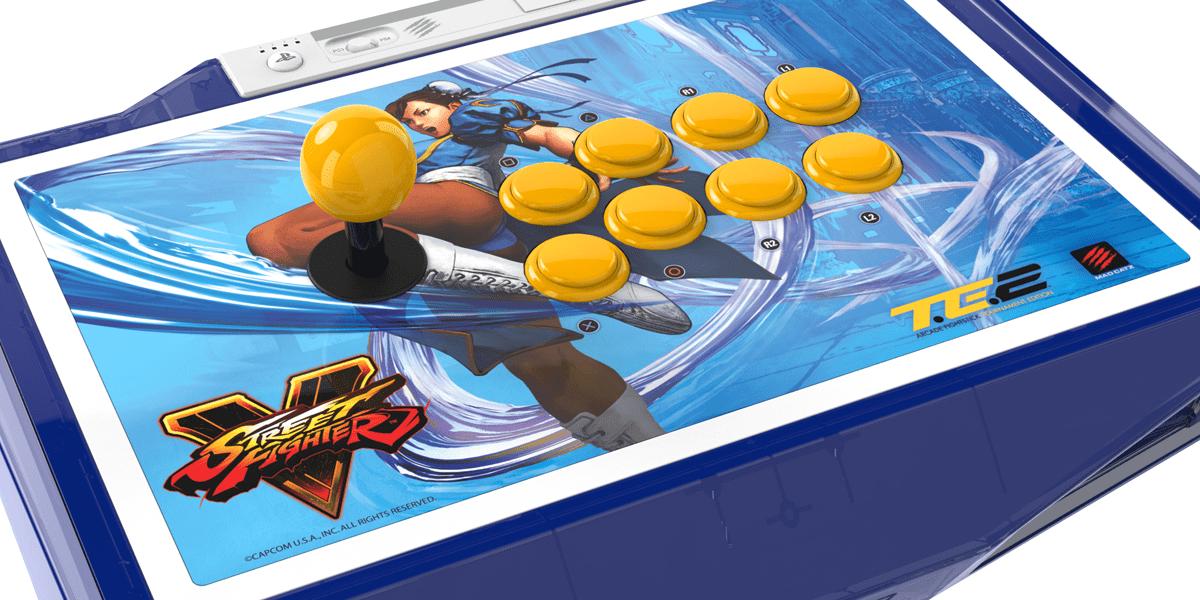 Street Fighter V Chun-Li TE2 fight stick