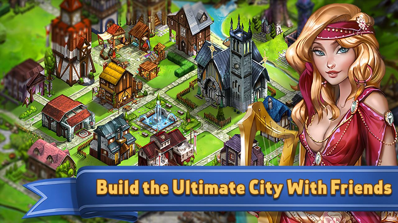 Building up your city will help you make better items.