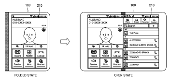 New Samsung patent shows off a phone that unfolds into a tablet (with bonus Apple cameo)