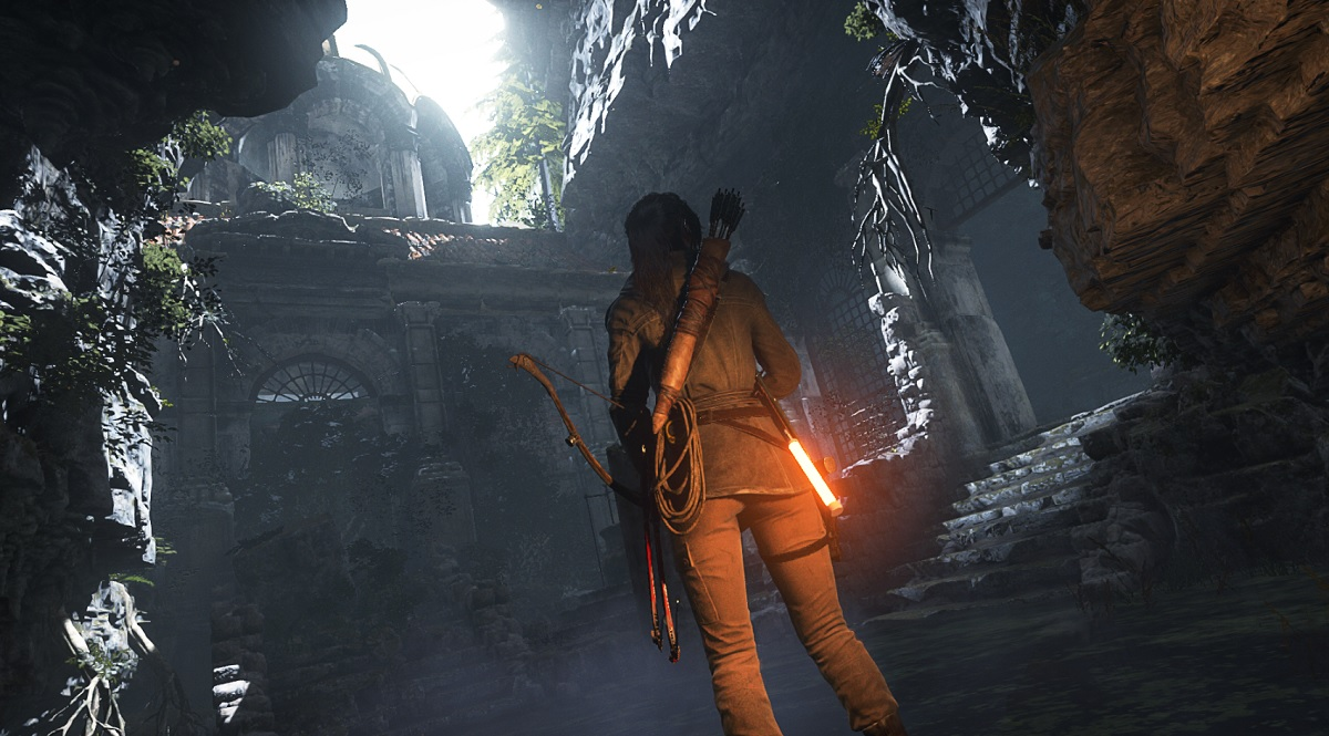 Oh, another wall to climb in Rise of the Tomb Raider.