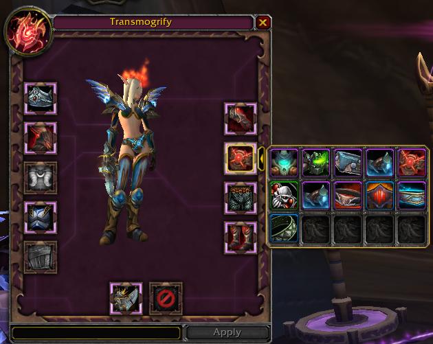 World of Warcraft transmogrifictation