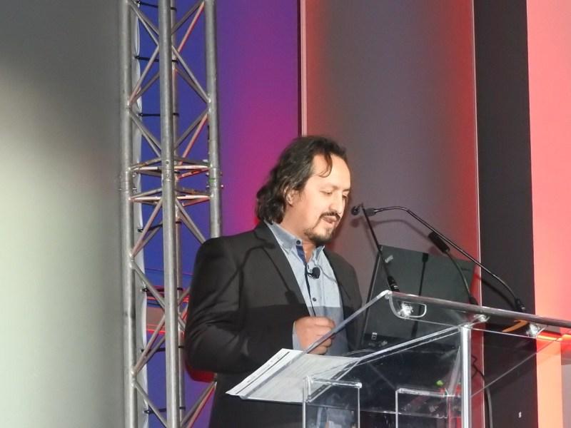 Vander Caballero, founder of Minority Media and creator of Papo y Yo
