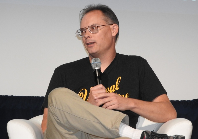 Epic CEO Tim Sweeney at VRX.