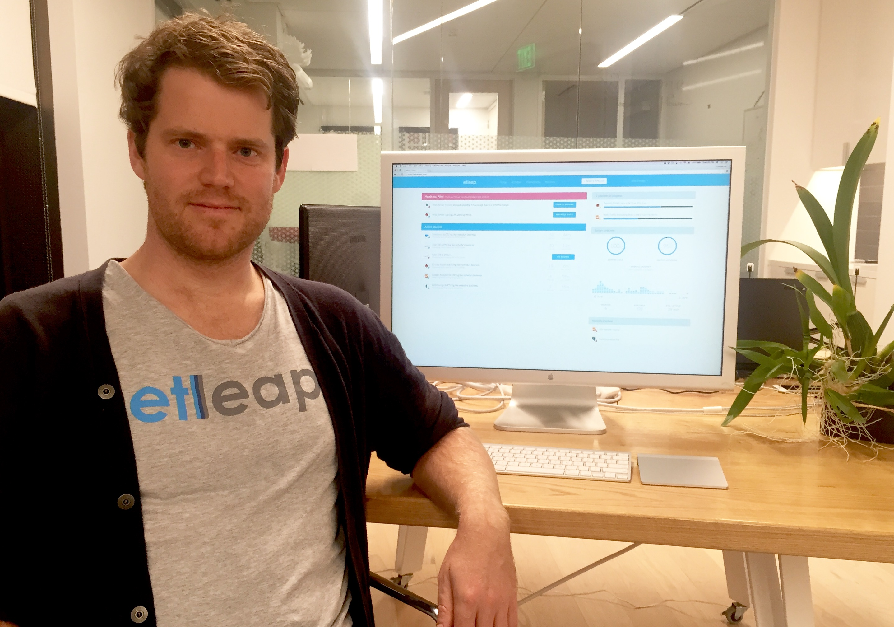 Etleap founder and chief executive Christian Romming.