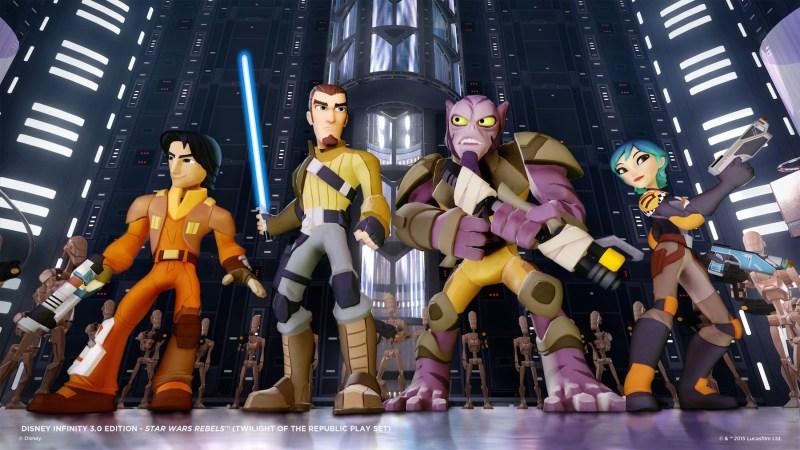 Disney Infinity 3.0: Star Wars Rebels cast