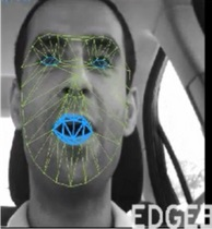 Edge3 can track and map a driver's face.