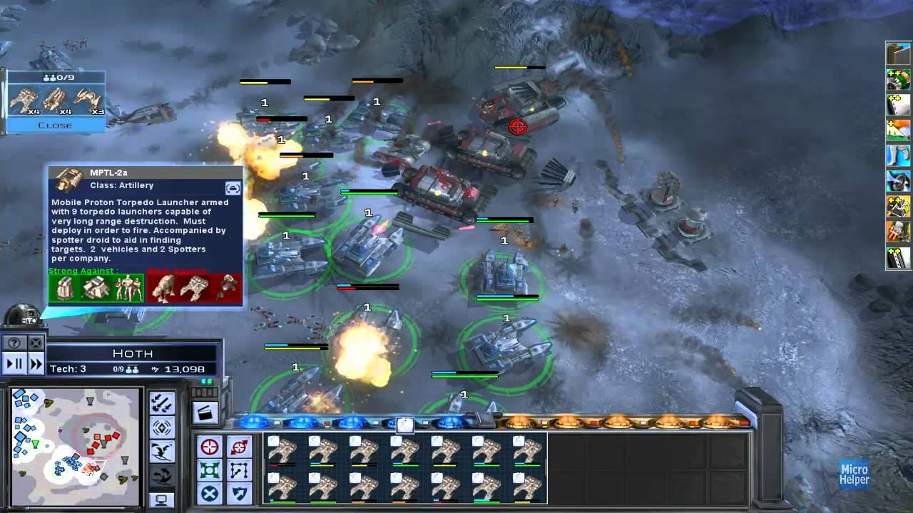 Star Wars: Empire At War gave you a chance to command an army of rebels.