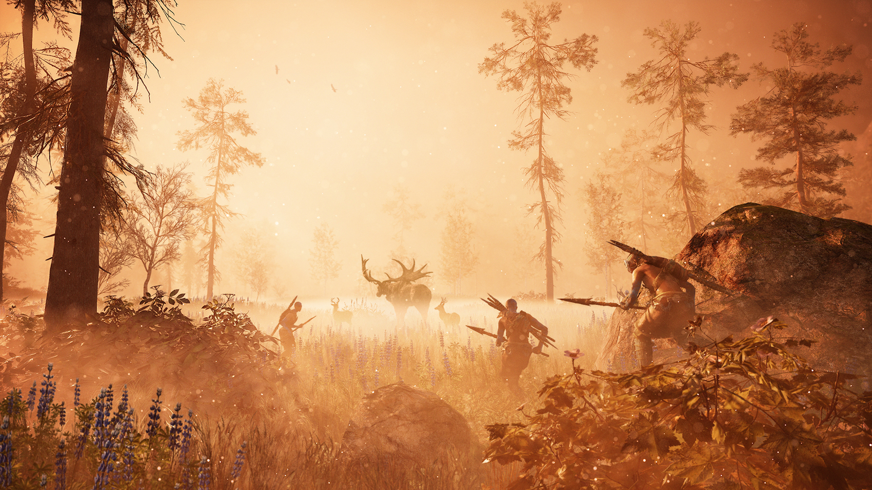 In Far Cry Primal Wild Animals Are Both Your Enemies And Your