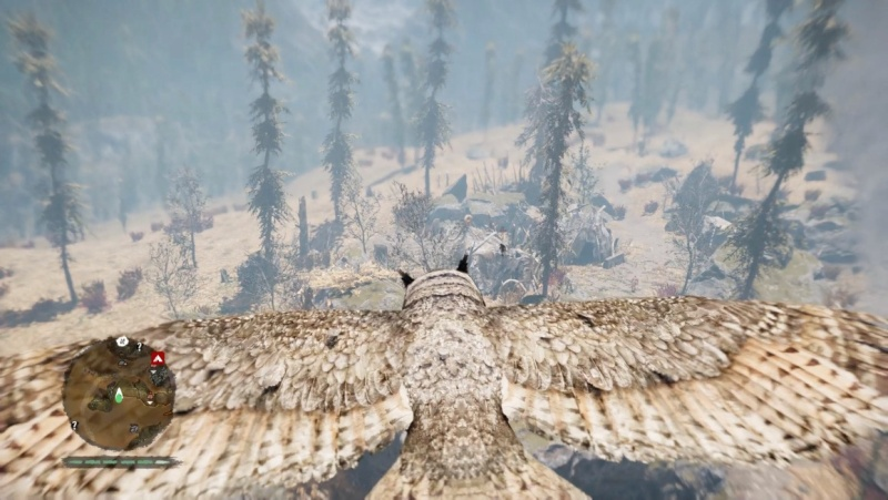 Far Cry Primal lets you play as an owl.
