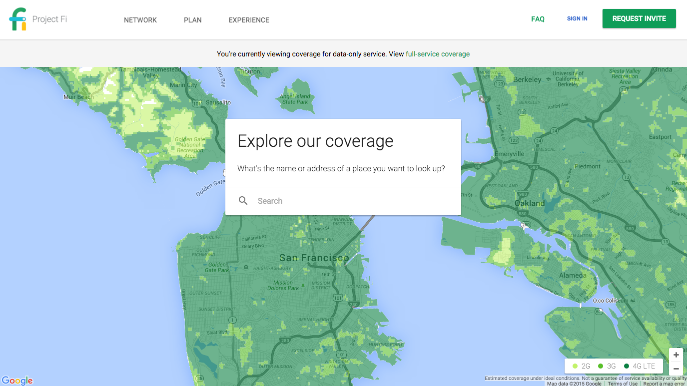 Google's Project Fi coverage map shows where data-only SIM ... on skynet coverage map, radio coverage map, broadband coverage map, overview map, tv coverage map, data privacy policy, cloud coverage map, network coverage map, cable coverage map, data interface, data roaming, data products, mobile coverage map, phone coverage map, android coverage map, gps coverage map, satellite coverage map, sound coverage map, internet coverage map, data forms,