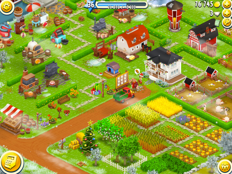 Hay Day can be a pleasant farm-building in the rare moments it responds to your touch.