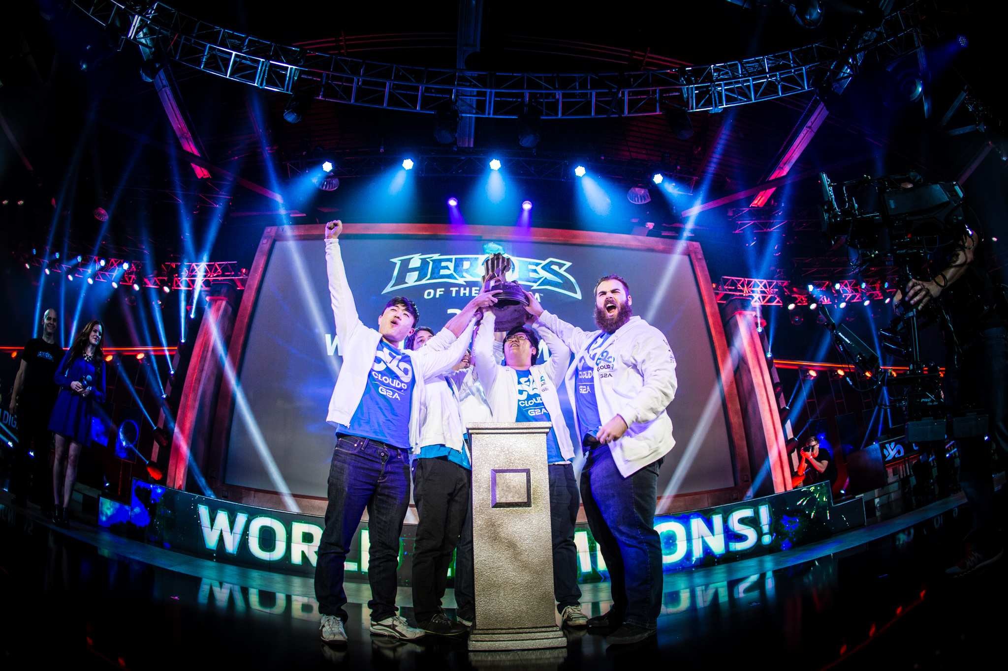 Cloud 9 won the 2015 BlizzCon Heroes of the Storm championship.