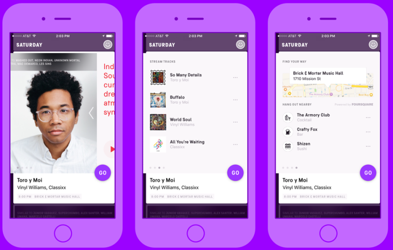 Jukely for iOS