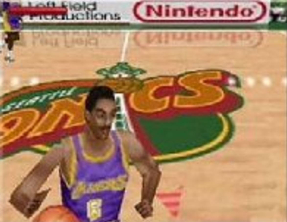 Kobe was already a superstar, but the Nintendo 64 couldn't quite do him justice.