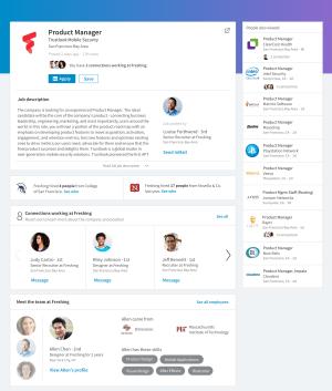 LinkedIn's new job posting screen