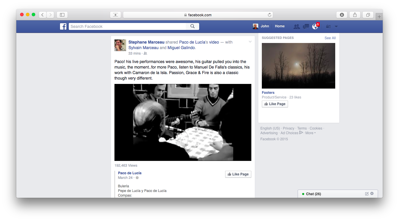 This is desktop Facebook. Do you even recognize it?