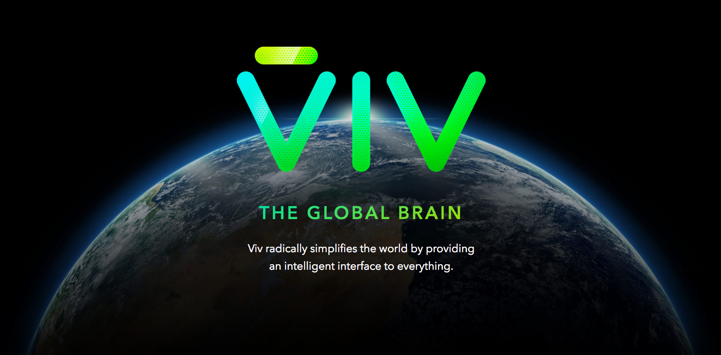 Viv homepage screenshot